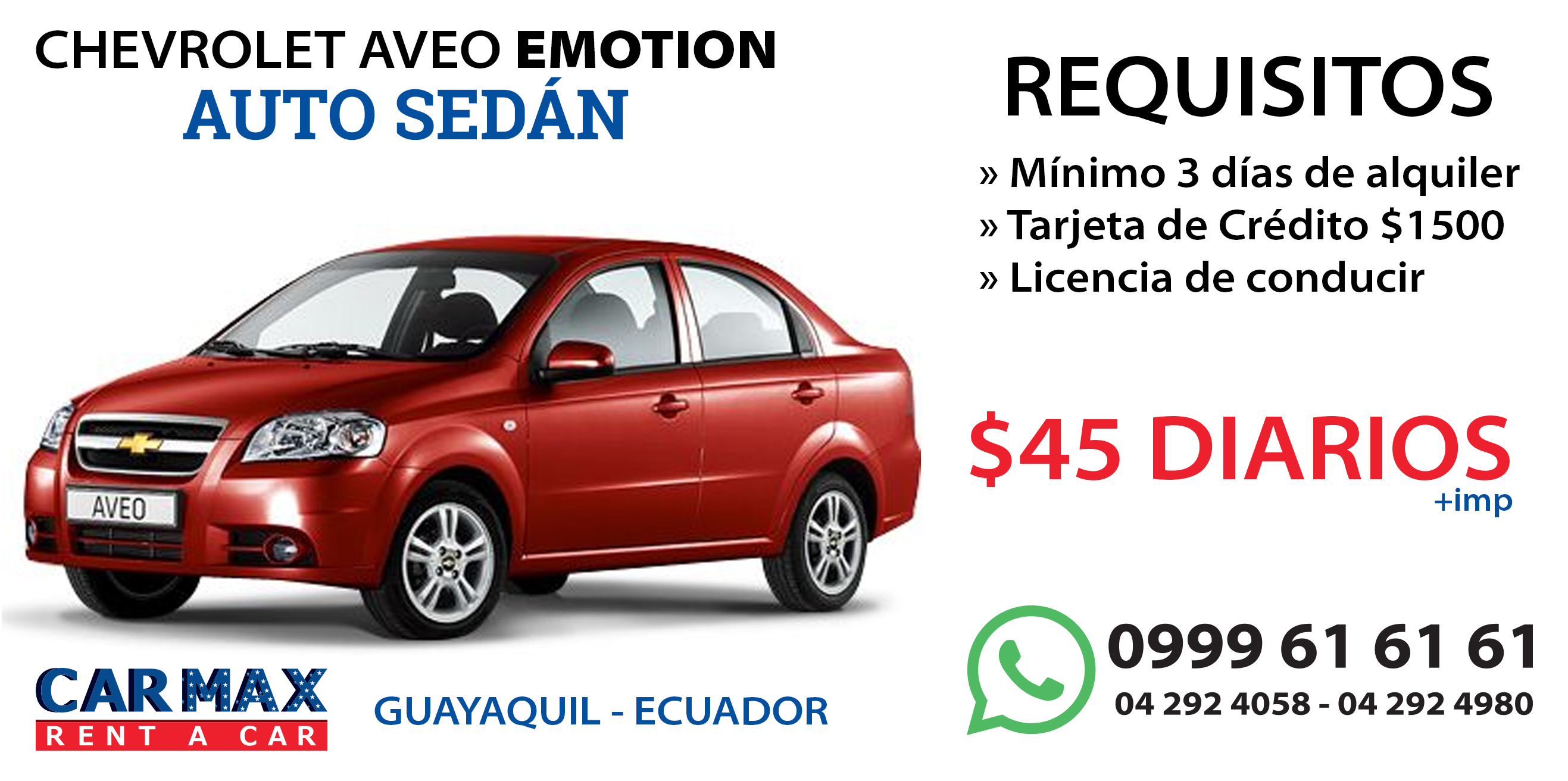 Chevrolet aveo emotion carmax